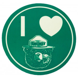 I Heart Smokey Sticker