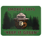 Smokey Keep It Green Sticker