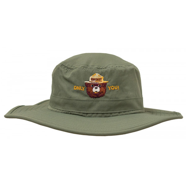 Smokey Embroidered Outdoor Hat, Adult