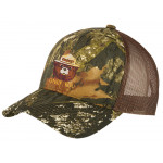 Smokey Embroidered Camo Trucker Hat, Adult