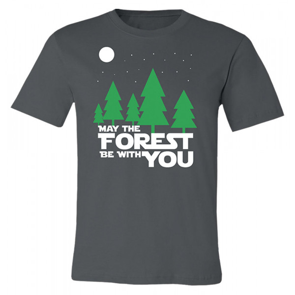 May The Forest Be With You T-shirt, Adult