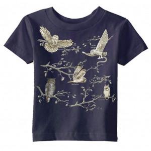 Owls T-shirt, Ladies