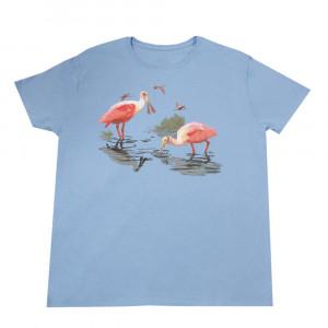 Roseate Spoonbill T-shirt, Ladies