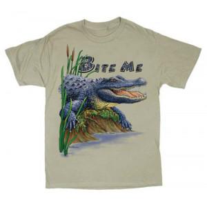 Bite Me Alligator T-Shirt, Adult