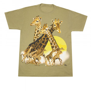 Giraffes T-Shirt, Adult