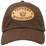 Smokey Wildfires Hat With Patch, Adult