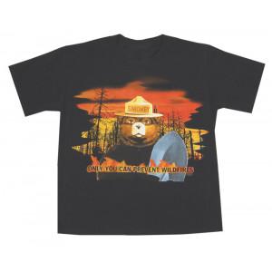 Smokey Flames T-shirt, Youth