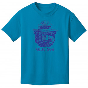 Smokey Seal T-shirt, Youth