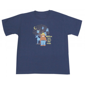 Smokey Forest Glow T-shirt, Youth