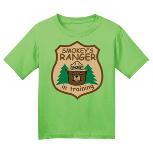 Smokey Ranger In Training T-shirt, Youth