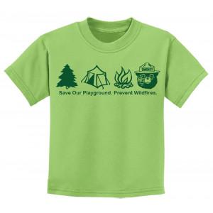 Smokey Symbols T-shirt, Youth