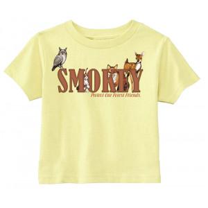 Smokey Friends T-shirt, Toddler Tee