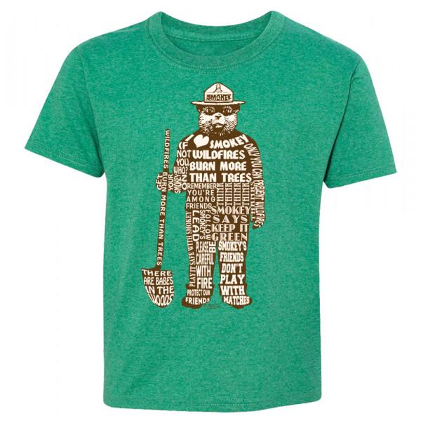 Smokey Saying T-shirt, Youth