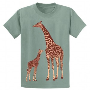 Two Giraffes T-Shirt, Youth