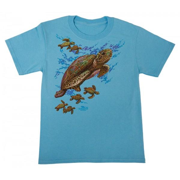 Big Sea Turtle T-Shirt, Youth