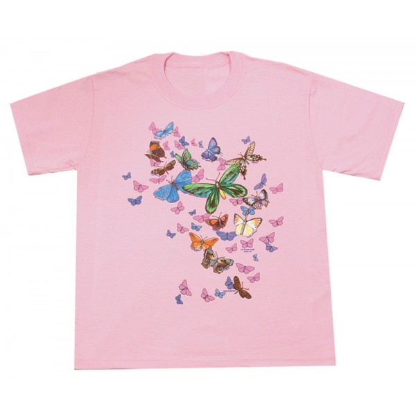 Exotic Butterfilies T-Shirt, Youth