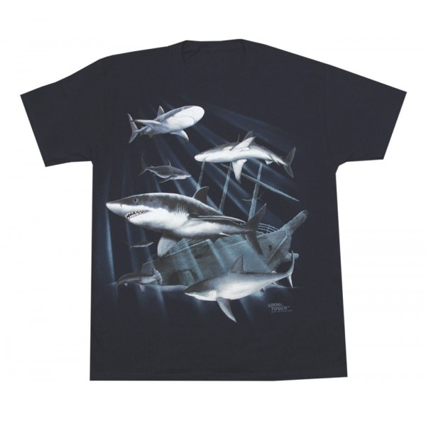 Shipwreck Sharks T-Shirt, Youth