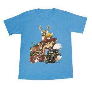 Friends of the Forest T-shirt, Youth
