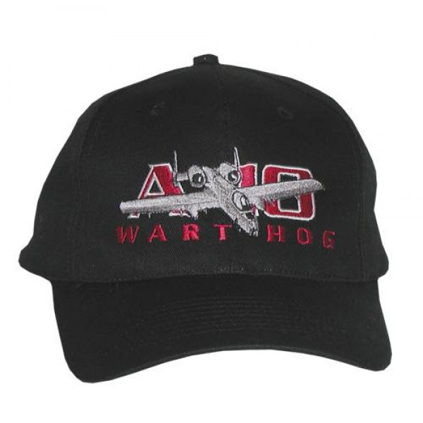 A-10 Warthog Embroidered Hat, Adult