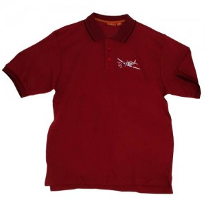 T-6 Texan Embroidered Polo, Adult